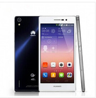 Original <b>Huawei</b> Ascend P7 Quad-Core 8.0MP + 13.0MP 5 pulgadas 2 GB + 16 GB LTE 4 G 1.8 GHz cámaras 1920 * 1080 Blueteech 4.0 teléfonos inteligentes envio gratis