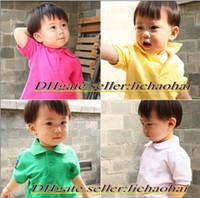 Unisex Summer  2014 NEW cartoon t shirt summer Children Boys T-shirt Polo Kids Clothing Boys and girls horse ball pattern Children's short-sleeved T-shirts