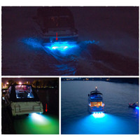 Wholesale Marine Boat Drain Plug LED Light W Blue Underwater NEW Simple to Install
