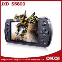 Wholesale JXD S5800 Game Console Video MTK6582 Quad Core G Phone quot IPS Screen GB RAM GB ROM Android DHL FREE