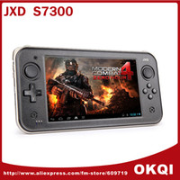 Wholesale New JXD S7300 inch Cortex A9 Dual Core GHz Game Console x600 HD Display Android OTG HDMI DHL FREE