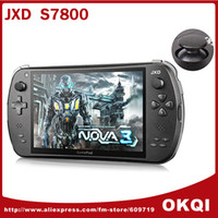 Wholesale Handheld Game Console Video JXD S7800B inch IPS Touch Screen RK3188 Quad Core GB GB Android Camera MP DHL FREE
