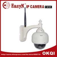 Wholesale Easyn F M10R ip camera dome camera ptz wireless outdoor dome two way audio webcam Infrared night view Digital Camera wifi DHL FREE