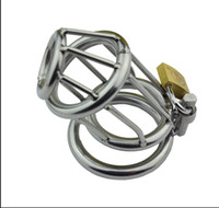 Cheap Latest Design Stainless Steel Bondage Male Chastity device Urethral Stretching Trap HOT FUN A158
