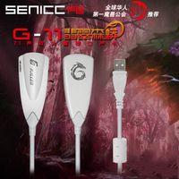 Wholesale Sound Korea G11 usb external sound card usb headset usb converter audio converter usb sound card k song