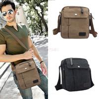 Wholesale New Men High Quality Multifunction Casual Crossbody Canvas Bags Men s Shoulder Bags Men Messenger Bags SV005826