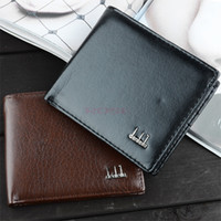 Wholesale New Vintage Men s Wallet Fine Bifold Brown PU Leather Money Purse Wallet Wallet For Men SV000195