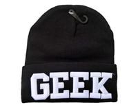 Cheap stylenanda GEEK knitted hat bboy cold cap casual elastic cap hip-hop Beanies