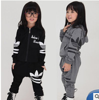 New Arrivals Girls sets 2 pieces Jacket + Trousers Brand Chi...