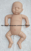 Cheap Wholesale-OP-20 inch Reborn Baby Doll Kit Silicone Vinyl soft dolls parts with belly