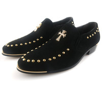 new style man dress shoes - 5colours new style rivet men s Wedding shoes prom shoes Dress shoes bridegroom shoes