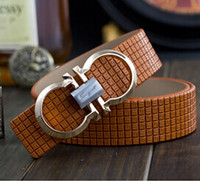Wholesale mens belts luxury leather belt brand belt buckle Smooth Men and Women casual genuine leather belt H021