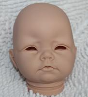 "Cheap OP-Reborn Baby doll kits Silicone Vinyl head 3 4 arms and legs for 20-22"" newborn kit Sadie lifelike dolls SR-1038"