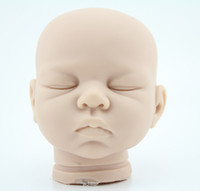 "Cheap OP-22"" Reborn Baby Doll Kit Silicone Vinyl soft head 3 4 arms legs for 22"" newborn baby doll kits"