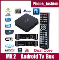 Dual Core Included 1080P (Full-HD) XBMC Fully Loaded MX TV Box Android 4.2 Dual Core 1G RAM 8G Amlogic 8726 A9 HDMI WiFi DLNA Google Smart Mini PC MX2 GBOX 1080P