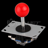 arcade stick parts - OP Red Ball Way Joystick Fighting Stick Parts for Game Arcade