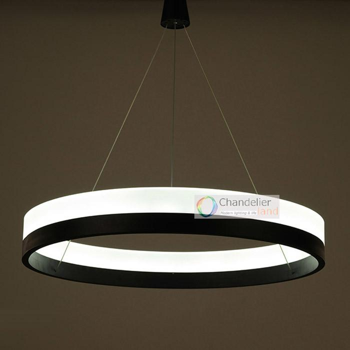 Three Sizes Modern Contemporary One Ring Pendant Light