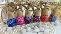 Cheap Car perfume pendant RGA14-5ml oil packing perfume bottle pendant perfume bottle clay bar dedicated