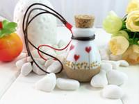 Cheap Wishing Jingdezhen Ceramic jewelry wholesale 10ml perfume bottle perfume bottle cork bottle it special