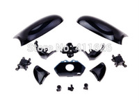 Cheap OP-for xbox one Solid black full shell and full button for XBOX 1 controller