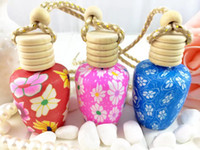 Cheap Wholesale polymer clay pendant perfume bottle RGA1-14ml car perfume bottle perfume bar special bottle points