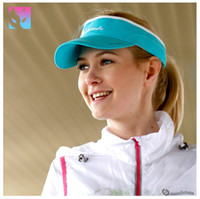 Wholesale Actionfox Fashion Summer Women Sunshade Visors Hot Sale Outdoor Sunscreen Anti UV Sun Hats UPF Sunbonnet Empty Top Hat High Quality