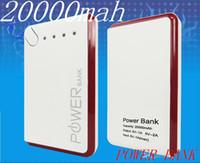 Wholesale shenzhen factory supply high capacity external portable mobile new mah power bank for lenovo