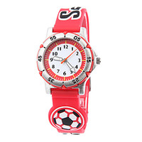 Wholesale Best Sellers Student and Children s D Ball Style Silicone Band Quartz Wrist Watches Concise But Not Simple