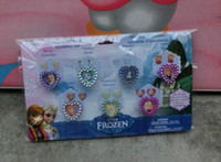 Wholesale 2014 New Girls Anna Elsa Doll Frozen Ring Sets Baby Girls Party Ring Kids Adjustable Ring XM