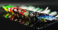Wholesale Fishing Metal VIB Vibration Lures Baits g Quick Sinker Long Shot Artificial Lure Bass Bait Feather Jigs