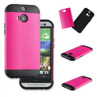 armor all - SGP case Slim Armor Case for All New HTC ONE M8 one2 Hard PC Soft TPU Hybrid Double Layer Back Skin Cover Retail Package