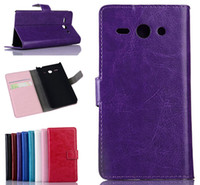 For Apple iPhone Leather  Crazy Horse Wallet PU Flip Leather Case Cover With Card Slots Stand Holder For iPhone 4S 5S 6 4.7 Samsung S3 S4 S5 Mini Note 2 3 Huawei Y530