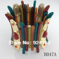 Cheap Minimum order $10 (mix items) 2014 popular bracelets vintage stretch punk jewelry for women free shipping