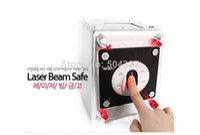 Wholesale Piece Compact ABS Digit Code Laser Beam Safe Mini Safe Box Money Bank Piggy Bank Money Box