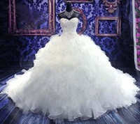 2015 Fall Luxury Beaded Embroidery Bridal Gown Princess Gown...