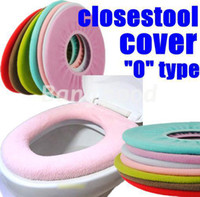 Cheap 3PCS lot Bathroom Warmer Toilet Closestool Washable Cloth Soft Seat Lid Cover Pads