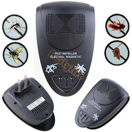Wholesale Ultrasonic Electronic Anti Insect Pest Mouse Mice Mosquito Repellent Bug Repeller SV004848