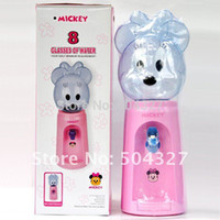 Cheap Free Shipping 1Piece 2.5 Liters Mini Water Dispenser 8 Glasses Water Dispenser Mickey Style
