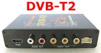 Cheap New Digital DVB T2 Car TV Receiver HDMI 1080P CVBS DVB-T2 Support H.264 MPEG4 Europe Russia Thai Market