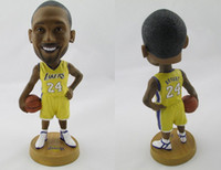 Wholesale OP nb star dolls James Bryant Paul Wade Durant Bobblehead dolls basketball fans gifts
