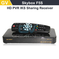 Wholesale Original Skybox F5S HD full p Skybox F5 S satellite receiver support usb wifi youtube youpron upgraded from skybox f5 f3