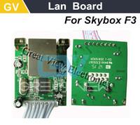 Wholesale original RJ45 Lan board internet port Lan Module network card for Skybox F3 receiver DVBS2 P satellite receiver set top box
