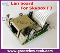 Wholesale Skybox F3 original Lan board internet port Lan Module network card RJ45 Board for Skybox F3 hd receiver P