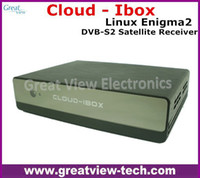 Cheap 2PCS Lot Free DHL Cloud ibox Full HD DVB-S2 Satellite Receiver Enigma 2 CLOUD-IBOX Mini VU+ Solo Support Youtube IPTV channels