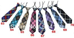 Wholesale Styles Baby kid children Ties Boys Girls Tie Silk Print Neck ties Can Choose colors