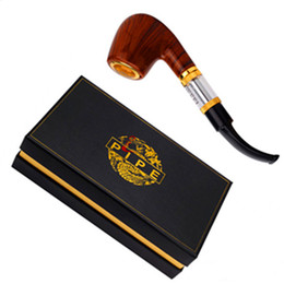 Wholesale E pipe Pipe electronic cigarette Set Series old fashioned smoking pipe style electronic smoking pipe starter kit free sipping