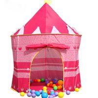 Cheap Children Beach Tent, Kids Castle Indoor Outdoor Tents, Baby Toy Play Game Tent