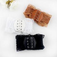 Wholesale New Fashion Lace Elastic Waistband Belt Cummerbund Decoration All match Female Wide Belt For Women