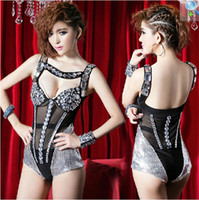 Stage clothing dancing wear fashion Female singers group sho...