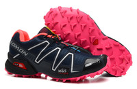 Wholesale Special Promotion New Arrival Salomon speedcross women waterproof shoes sports trail running shoes women eur size
